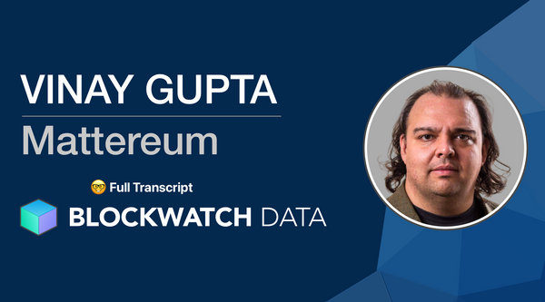 Full Interview Transcript - Vinay Gupta on Blockwatch Podcast